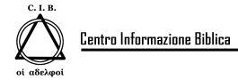 CIB – Centro Informazione Biblica